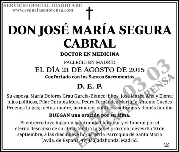 José María Segura Cabral